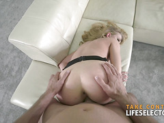 Sneaking in a stranger's house to fuck Lucy Heart POV