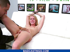 Blonde Babe With Nice Curves Fucked Hard
