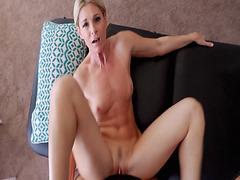 Lucky stepson gets to taste her stepmoms milf pussy