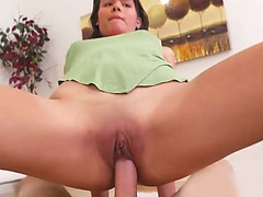Latina stepsister in sexy high heels gets fucked hard