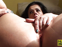 Fingerfucked milf sub