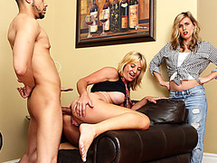 Milf assfucked by stepdaughters black bf