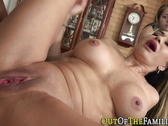 Stepmother sucks and gets anally plowed