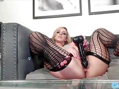 CamSoda -  Big Ass Jada Stevens Pounds her Asshole