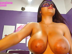 Big breasts with very Big Nipples.