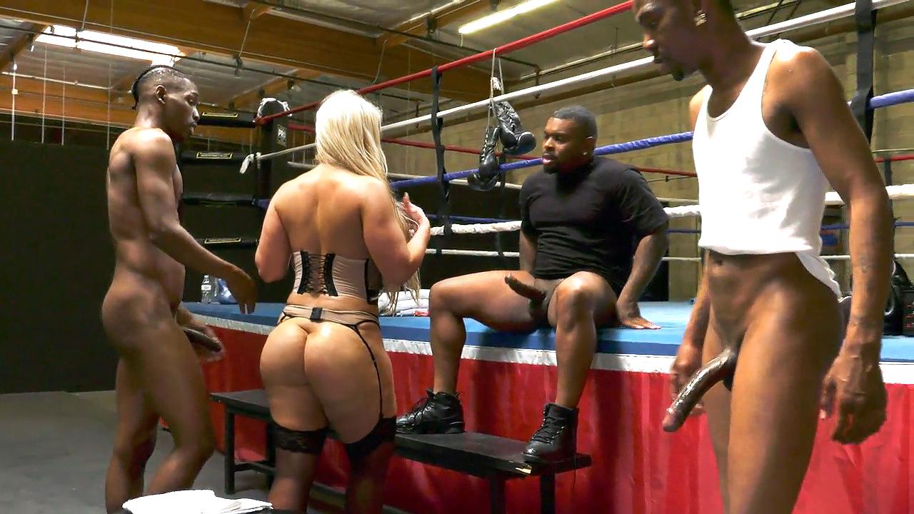 Alura Jenson Interracial Dp Porn alura jenson went to boxing club for interracial gangbang