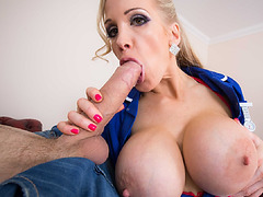 Rebecca offers her tight ass and vagina to get fucked