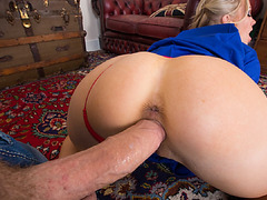 Rebecca Moore sucked on Dannys big cock