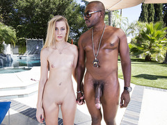 Alexa Grace takes a big black cock
