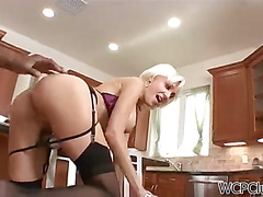 Slutty cougar gets fucked good and hard