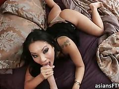 Hot pornstar Asa Akire anal n squirts