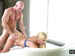 Hot Payton Simmons gets rammed