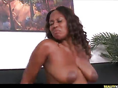 Sazha getting her bg massive breasts fucked!