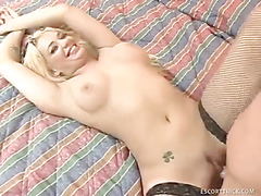 Hot Big Boobed Blonde Gets Hot Dicked Hard