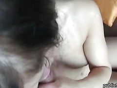 Czech girl Morgan fucked and jizzed on