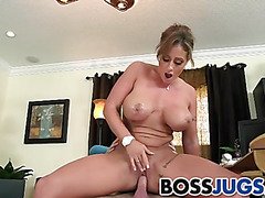 Sexy big boobs boss Eva Notty