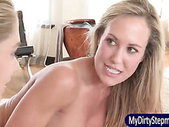 Brandi Love 3way with Lia Lor and her BF