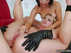 Yummy pornstar hotties asses cock nailed
