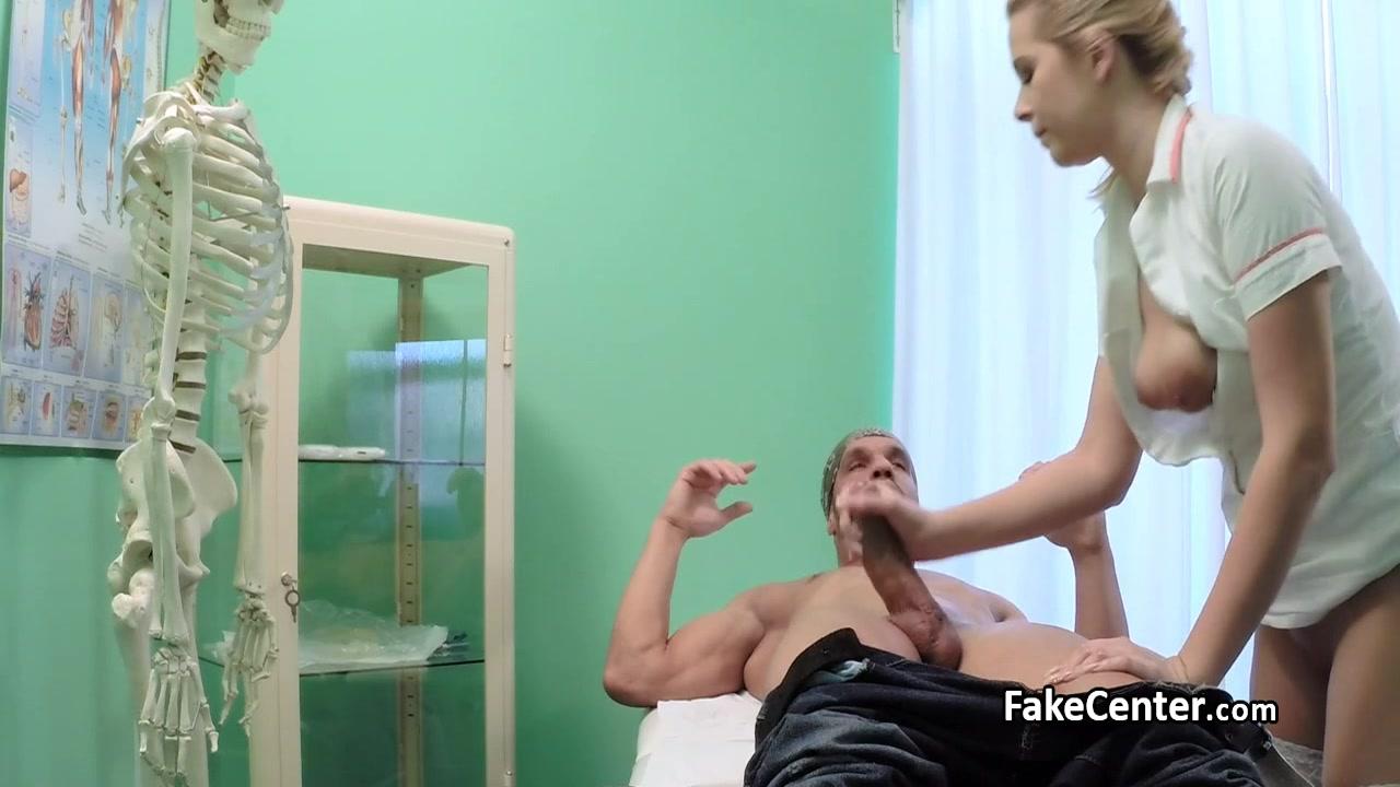 Nurse cumshot blonde