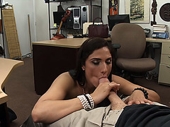 Gorgeous lovely Brazilian getting fucked for good cash