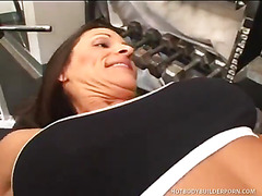 Kristine Madison Gets A Workout When She Gets Double-teamed