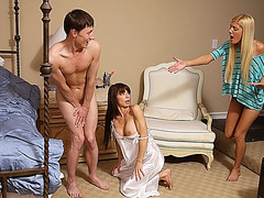 Ava Sparxx gets a satisfying creampie