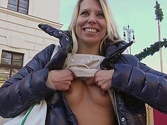 European Adrienne screwed up for money