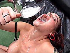 flexi busty german in cum eroticing orgy