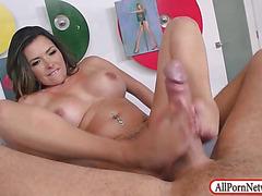 Huge hooters Danica Dillan hard pounded