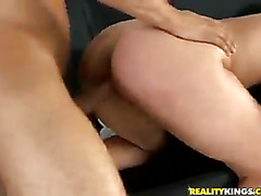 Kinzie sucking cock and getting fucked.