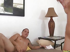 Kristal rides that cock as her juicy ass bounces.