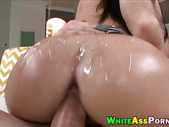 Busty Melina Mason bounces her big butt