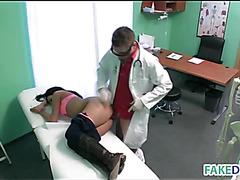 Hardcore fucking in hospital