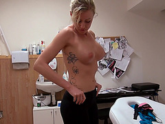 Busty Eurobabe Victoria fucked for money