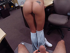 Kinky Latina fucks to earn more cash