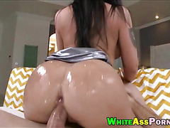 Busty Melina Mason bounces her big butt
