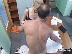Doctor fucking chiefs wife in hospital