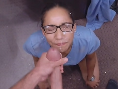 A desperate nurse willing to fuck for money