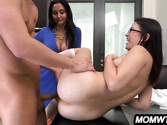 StepDaughter And StepMom Fuck BF Ava Addams & Daisy Summers.3