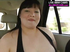 Asian Bbw Shaved Pussy Gets It On The Bed 1
