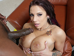 Lylith gets stunned and pummeled with a monster black dick