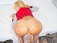 Hot ass Carmen Caliente loves big dong