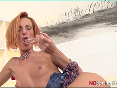 Alix Bolan anal sex toy