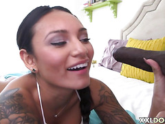 Big BLACK dick for Babe Natalia Mendez
