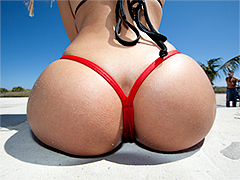 Oiled ass Rebeca Linares