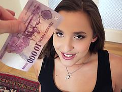 Hot and beautiful Mairah Adara shows her big boobs for cash