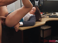 Busty milf pounded to earn exra money