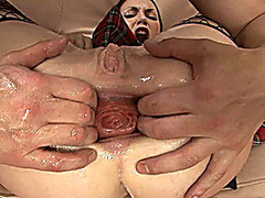 deepthroat and prolapse anal queen