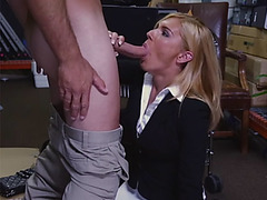 Gorgeous milf mom Holly is sucking me hard