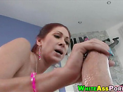 Huge ass whore Tiffany Mynx anal pounded